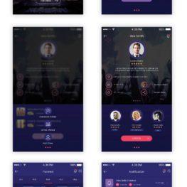 Pop-out Mobile app