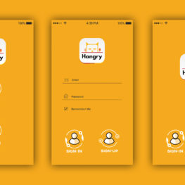 hungry Mobile app