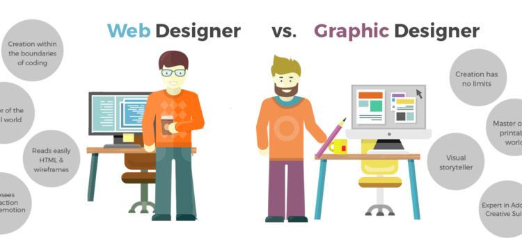 Web Designing vs. Graphic Designing
